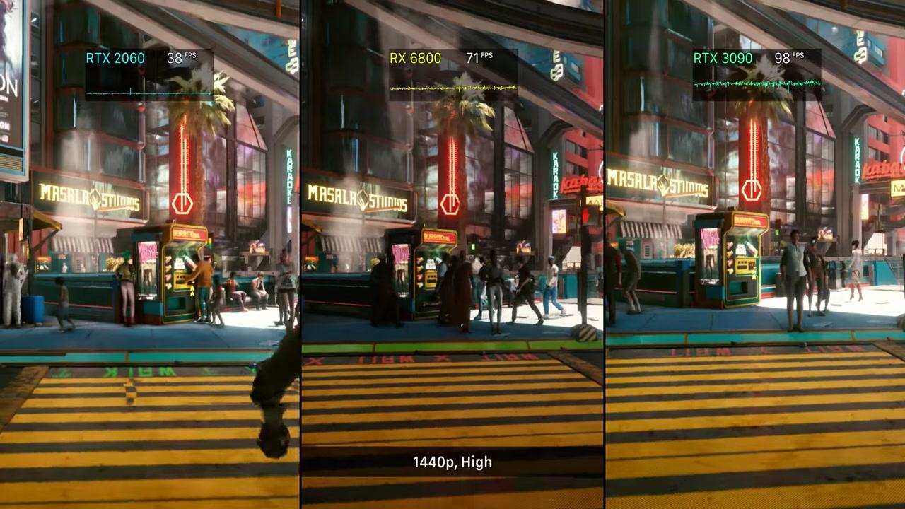Cyberpunk 2077 GPU Benchmark + RTX On/Off Vergleich